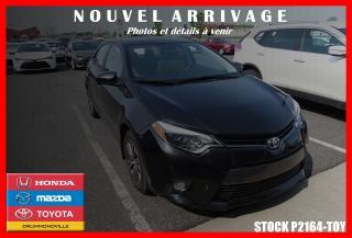 Used 2016 Toyota Corolla Le Camera De Recul for sale in Drummondville, QC