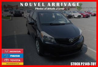 Used 2014 Toyota Yaris LE BLUETOOTH for sale in Drummondville, QC