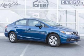 Used 2014 Honda Civic LX ***GARANTIE 10 ANS/200 000 KM*** for sale in Québec, QC