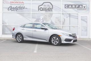Used 2016 Honda Civic LX ***GARANTIE 10 ANS/200 000 KM*** for sale in Québec, QC