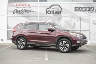 Used 2015 Honda CR-V TOURING AWD ***GARANTIE 10 ANS/200 000 K for sale in Québec, QC