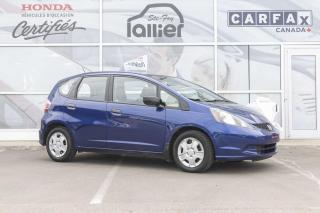 Used 2014 Honda Fit DX-A ***GARANTIE 10 ANS/200 000 KM*** for sale in Québec, QC