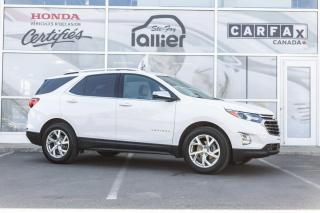 Used 2018 Chevrolet Equinox Premier TI  ***JAMAIS ACCIDENTE*** for sale in Québec, QC