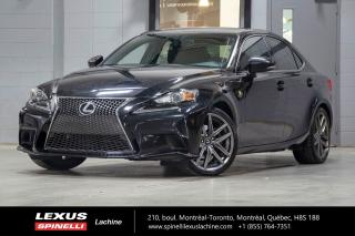 Used 2015 Lexus IS 250 F Sport I Awd; Cuir for sale in Lachine, QC