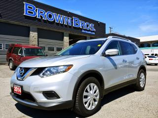 Used 2014 Nissan Rogue S, LOCAL, ACCIDENT FREE, for sale in Surrey, BC
