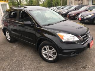 Used 2011 Honda CR-V EX-L/ LEATHER/ SUNROOF/ PWR SEATS/ ALLOYS/ TINTED! for sale in Scarborough, ON
