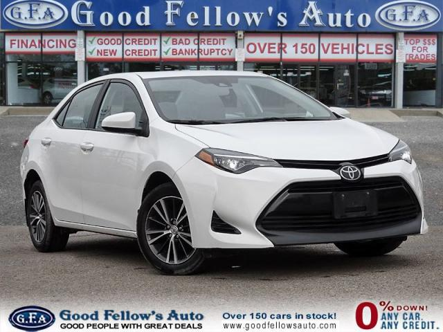 2018 Toyota Corolla LE MODEL, 1.8L 4CYL, REARVIEW CAMERA,POWER MOONROF