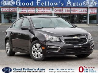 Used 2015 Chevrolet Cruze 1LT MODEL, 4CYL, HEATED SEATS, REARVIEW CAMERA for sale in Toronto, ON