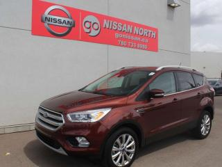 Used 2018 Ford Escape Titanium/4WD/ONE OWNER/LEATHER/PANO ROOF for sale in Edmonton, AB