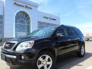 Used 2012 GMC Acadia SLE for sale in Peace River, AB