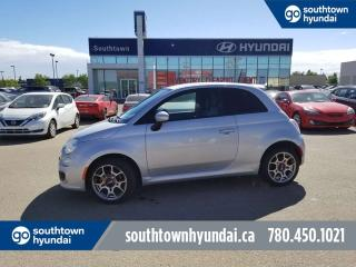 Used 2014 Fiat 500 SPORT/LEATHER/HANDS FREE/POWER OPTIONS for sale in Edmonton, AB