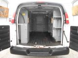 2012 Chevrolet Express 3500 1Ton Cargo Loaded Divider Shelving 159,000KMs