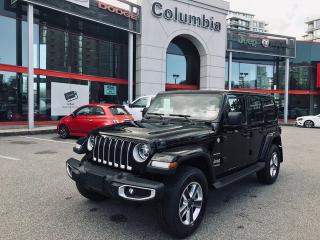 New 2019 Jeep Wrangler Unlimited Unlimited Sahara for sale in Richmond, BC