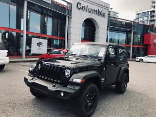 New 2019 Jeep Wrangler SPORT for sale in Richmond, BC