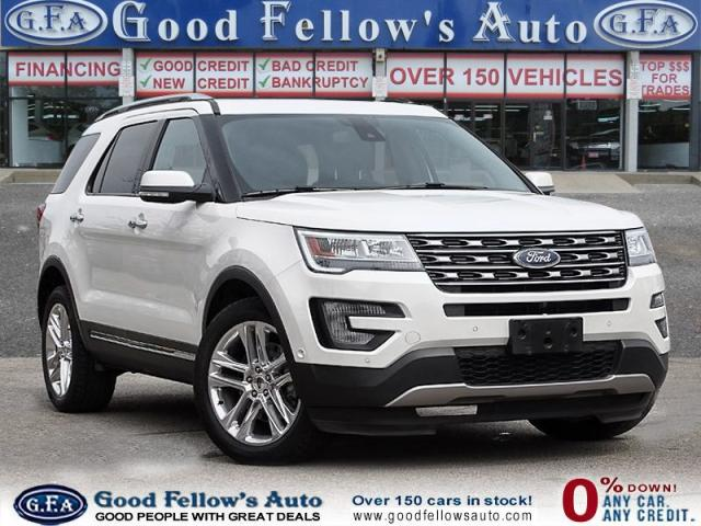 2017 Ford Explorer LIMITED MODEL, 4WD, 3.5LITER 6CYL, REARVIEW CAMERA