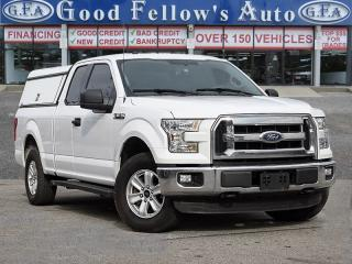Used 2015 Ford F-150 XLT MODEL, SUPERCAB, 6 PASSENGER, SHORTBOX, 8CYL for sale in Toronto, ON