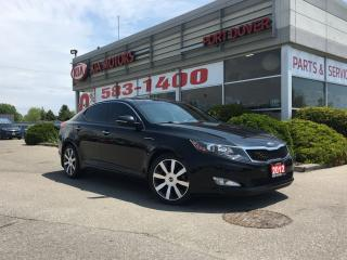 Used 2012 Kia Optima EX Luxury | Low KMS! | Htd & Cooled Seats for sale in Port Dover, ON