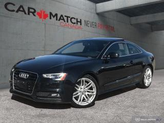 Used 2015 Audi A5 Technik / NAV / S LINE / NO ACCIDENTS for sale in Cambridge, ON