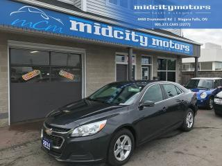 Used 2014 Chevrolet Malibu LT/Comfortable Ride/Bluetooth/Super Clean for sale in Niagara Falls, ON