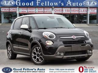 Used 2014 Fiat 500L 1.4L TURBO, HEATED SEAT, POWER SEAT, LEATHER&CLOTH for sale in Toronto, ON