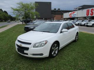 Used 2009 Chevrolet Malibu 2LT~SUNROOF~HEATED SEATS~LEATHER~CERTIFIED for sale in Toronto, ON