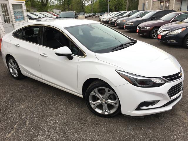2017 Chevrolet Cruze PREMIER/ AUTO/ LEATHER/ BLUETOOTH/ ALLOYS!