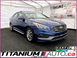 Used 2016 Hyundai Sonata Sport Tech+GPS+Camera+Pano Roof+Blind Spot+Cross T for sale in London, ON
