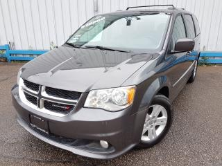 Used 2017 Dodge Grand Caravan CREW *LEATHER-HEATED SEATS* for sale in Kitchener, ON