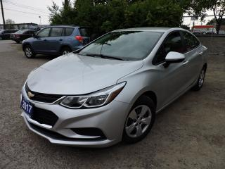 Used 2017 Chevrolet Cruze LS | REV CAM | FINANCE FROM 4.99% for sale in BRAMPTON, ON