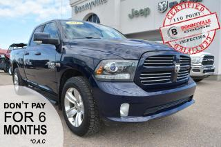 Used 2014 RAM 1500 SPORT- REMOTE START, BACK UP CAMERA, TONNEAU COVER for sale in Bonnyville, AB