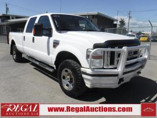 Used 2008 Ford F-350 SD XLT 4D CREW CAB 4WD for sale in Calgary, AB