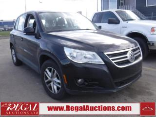 Used 2010 Volkswagen Tiguan 4D Utility AWD for sale in Calgary, AB
