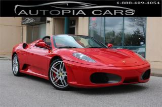 Used 2006 Ferrari F430 SPIDER F1 TRANSMISSION NO ACCIDENT for sale in North York, ON