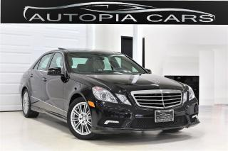 Used 2010 Mercedes-Benz E-Class E350 4MATIC NAVIGATION BACKUP CAMERA PANORAMIC for sale in North York, ON