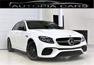 Used 2018 Mercedes-Benz E-Class AMG 63 S 4MATIC AMG 603 HP BLIND SPOT NAVI BACKUP for sale in North York, ON