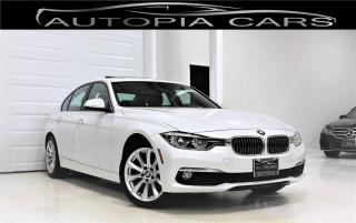Used 2017 BMW 320i NAVIGATION LUXURY LINE PKG AWD CERTIFIED for sale in North York, ON