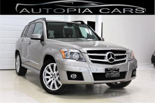 Used 2010 Mercedes-Benz GLK-Class 350 4MATIC PANORAMIC SUNROOF CERTIFIED for sale in North York, ON