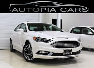 Used 2018 Ford Fusion Hybrid TITANIUM PKG NAVIGATION BACKUP SUNROOF for sale in North York, ON