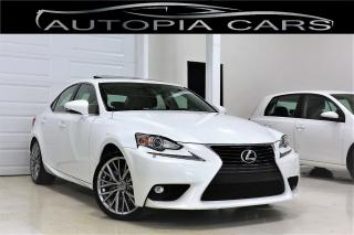 Used 2015 Lexus IS 250 AWD BACKUP CAMERA SUNROOF ALLOY CERTIFIED for sale in North York, ON