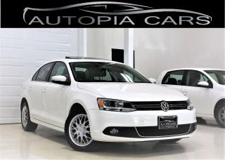 Used 2013 Volkswagen Jetta 2.0 TDI HIGHLINE SUNROOF DIESEL NO ACCIDENT for sale in North York, ON