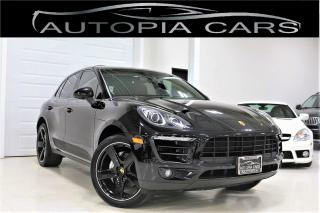 Used 2016 Porsche Macan S PREMIUM PACKAGE LOTS OF UPGRADE RED INTERIOR for sale in North York, ON