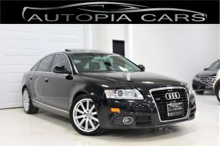 Used 2011 Audi A6 3.0L PROGRESSIV SLINE PKG NAVIGATION BACKUP CAMERA for sale in North York, ON