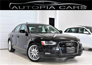 Used 2015 Audi A4 S LINE PKG AWD SUNROOF ALLOY CERTIFIED for sale in North York, ON
