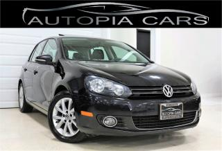 Used 2013 Volkswagen Golf 2.0 TDI HIGHLINE SUNROOF ALLOY for sale in North York, ON