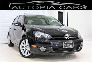 Used 2013 Volkswagen Golf 2.0 TDI HIGHLINE LOW MILLAGE NAVIGATION for sale in North York, ON