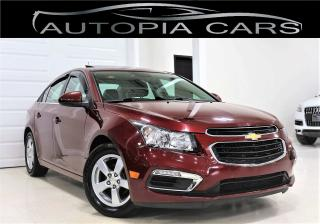 Used 2015 Chevrolet Cruze 2LT LEATHER SUNROOF NAVIGATION BACKUP CAMERA for sale in North York, ON