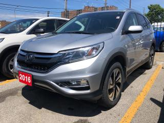 Used 2016 Honda CR-V Touring, one owner, clean carproof for sale in Toronto, ON