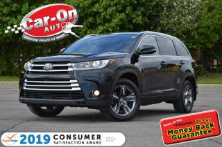 Used 2017 Toyota Highlander Limited AWD 7 SEAT LEATHER NAV PANO ROOF LOADED for sale in Ottawa, ON
