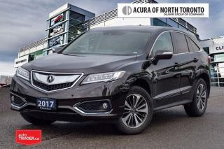 Used 2017 Acura RDX Elite at No Accident| Remote Start| LOW KM for sale in Thornhill, ON