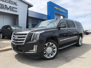 Used 2015 Cadillac Escalade ESV PLATINUM for sale in Barrie, ON